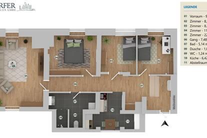 4 Zimmer! Gries! Erstbezug n. Sanierung ! Provisionsfrei! Bestlage! Perfekte Lage! FamilienHIT-WG!