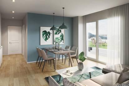 EXKLUSIVE 63m² 3-Zimmerwohnung in beliebter Grazer Wohnlage | TERRASSE & Eigengarten