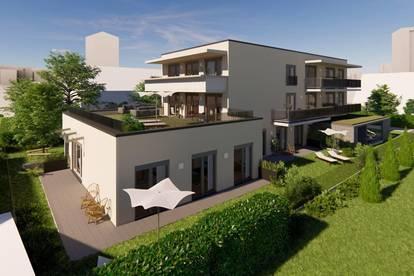 Neubauprojekt -Architektonisches Highlight! 2-Zimmer! Balkon! Ansprechende Lage! Gutenbergstraße 7!