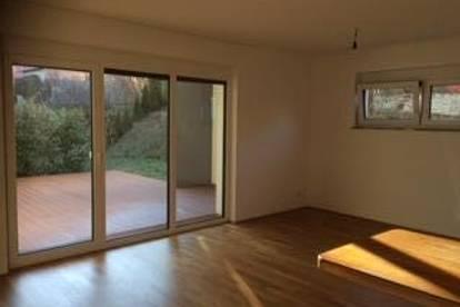 68qm2 Wohnung mit 209 qm2 Gartenfläche und überdachter Terrasse in Villach
