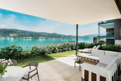 Hermitage Luxury Sundowner Apartment - Rarität direkt am Wörthersee, Golfplatz Dellach und Velden