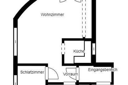 2-Zi-Wohnung mit Balkon und TG-Parkplatz - Provisionfrei