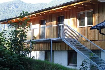 Neu erstellte Wohnungen im Erstbezug,   Lage unverbauter  Blick ins Inntal, wo man hinschaut alles Wiesen Berge
