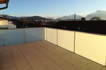 Neubau Dachgeschoss-Terrassen-Wohnung mit Panoramablick