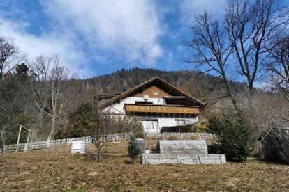 Traumhaft idyllisches Wohnhaus am Ossiachersee mit unverbaubarem Seeblick