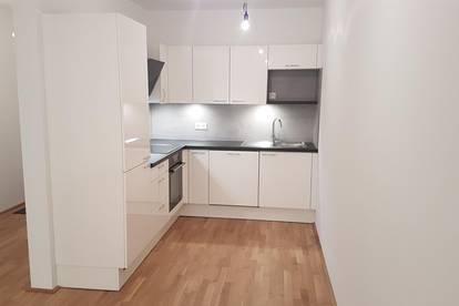 Provisionsfreie Neubau/Erstbezug-Mietwohnung in Oberlaa, direkt an der U1 - 2 Zimmer mit Loggia/Balkon und Garagenplatz