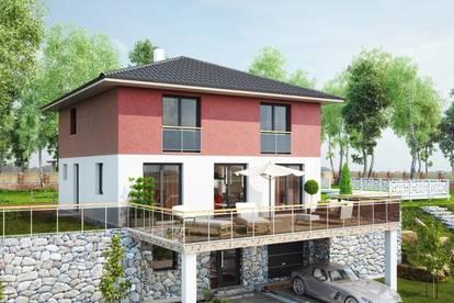 Villa mit Bergblick