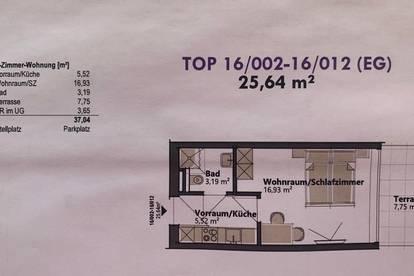 Neubau-Wohnung, komplett möbliert