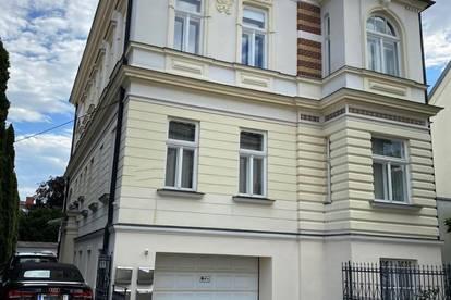 Baden Zentrumsnähe: klimatisierte Altbau-Dachgeschosswohnung, 3 Zimmer, Garten und Poolnutzung möglich