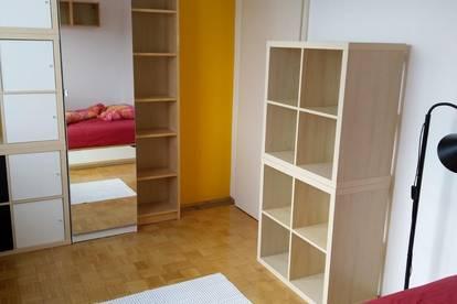 Vollmöbeliertes 2er WG Zimmer mit idealer Lage