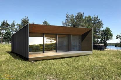 NEUHEIT - Luxus Tiny House kaufen + vorhandenes Grundstück pachten