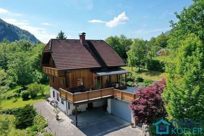 Holz-Landhaus in herrlicher Lage - HAUPTWOHNSITZ