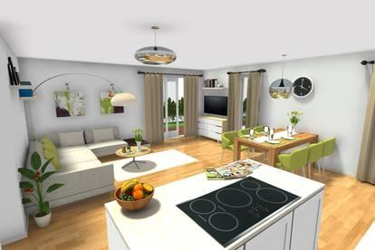 Neubauvorhaben: 4-Zimmer-Gartenwohnung im Zentrum von Henndorf