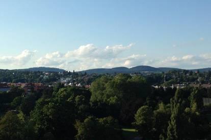 Penthouse mit Blick bis zum Khalenberg