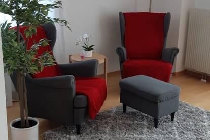 3 Zimmer Wohnung teilmöbliert im 2.Stock, sonnige Lage, Hausanlage im Zentrum Stockerau mit Aufzug und PKW Abstellplatz im Freien