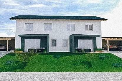 Stilvolles Doppelhaus mit Terrasse und Garten in Grafendorf bei Hartberg - keine Provision!