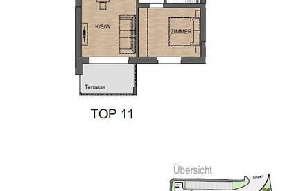 Stilvolle 2-Zimmer-Wohnung mit Balkon in Grafendorf bei Hartberg