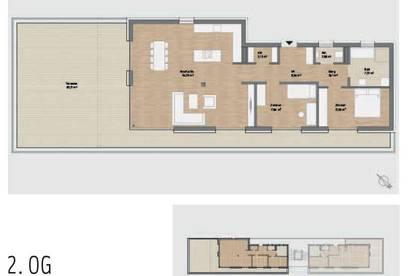 Penthouse! Exklusive Neubauwohnung mit großzügiger Terrasse in Graz St. Peter