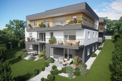 Neubau! Provisionsfreie Eigentumswohnung mit Terrasse und sonnigem Garten