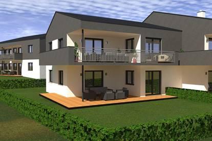Neubau! Moderne Eigentumswohnung mit Terrasse und Grünfläche