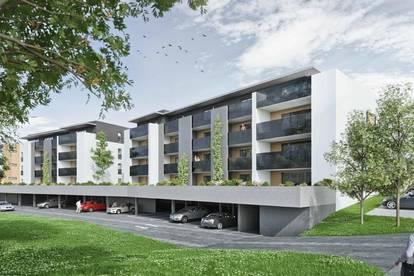 Wunderschöne 3-Zimmer-Neubauwohnung mit Loggia und Garten in Hartberg - keine Provision!