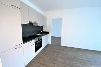 EGGENBERG! Neue 41m² große 2-Zimmer-Wohnung mit Balkon und toller Küche!