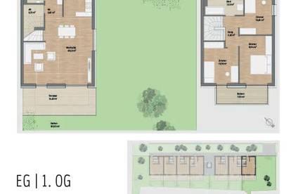 Exklusiver NEUBAU in St. Peter! Stilvolle 4-Zimmer-Maisonettenwohnung mit Garten in Graz