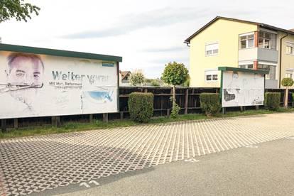 8 Werbeflächen in zentraler Lage mitten in Feldbach