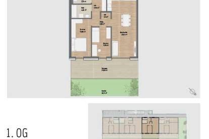 Provisionsfrei! Traumhafte Neubau-Eigentumswohnung mit Garten in Graz St. Peter