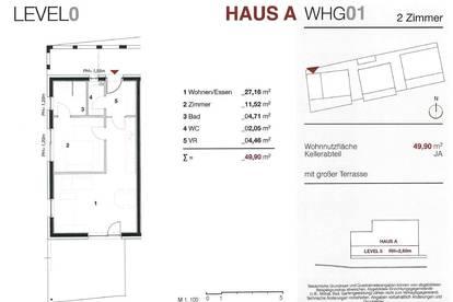 Ideal für Anleger! Wunderschöne 2-Zimmer-Neubauwohnung mit großer Terrasse in Bad Radkersburg