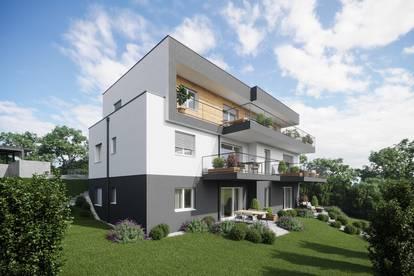 Provisionsfrei! Traumhafte Neubauwohnung mit sonniger Terrasse und großem Garten