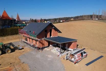 Neubau! Provisionsfreies Einfamilienhaus mit Doppelcarport & großzügigem Grundstück in St. Kind