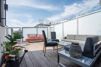Neue, moderne und helle Wohnung mit Dachterrasse und Klima im 9. Bezirk