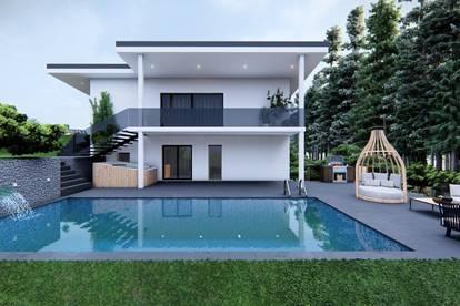 K3! Lannach - NEUBAU modernes Einfamilienhaus in Top Lage mit Pool