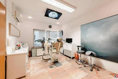 Großzügige, moderne Zahnarztpraxis in Waidmannsdorf zu vermieten!