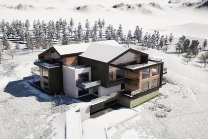 Filzmoos I Einmalige Gelegenheit! 68m² Gartenwohnung direkt am Skilift - nur noch 3 Einheiten!