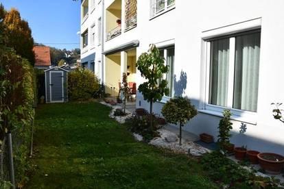 Sonnige Wohnung mit Garten in zentraler Lage