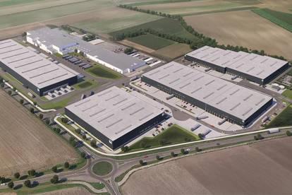 Neue Premium Logistikflächen in Enzersdorf an der Fischa