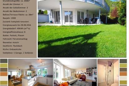 Hochwertige 4-Zimmer Gartenwohnung in Salzburg Stadt