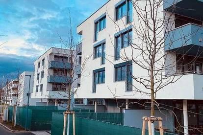 2Zimmer, Dachgeschoss ohne Schrägen, 14m2 Süd Terrasse, Erstbezug, Glasfasertechnologie
