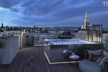 Luxus Penthouse nähe Stadtpark mit Dachpool!