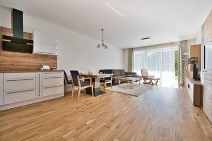 Moderne 2-Zimmer-Wohnung mit Eigengarten, Terrasse und Tiefgarage! Schatz, lass uns zusammenziehen!