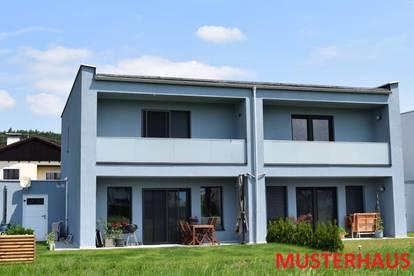 Neue Doppelhaushälften mit Carport Typ A