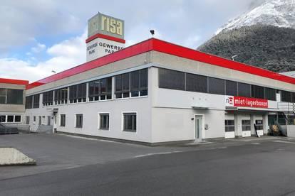 120 m² Büro-, Ordinations- oder Gewerbefläche in Telfs (provisionsfrei) im Gewerbepark RISA