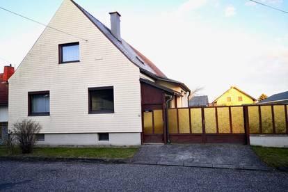 Wohnen im Blaufränkischland: Ruhig gelegenes Haus mit idyllischen Garten