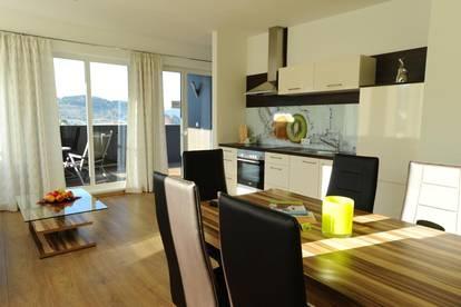 Luxeriöse Wohnungen zwischen 35qm und 72qm -möbliert inklusive Carport und Inventar mit großem Garten und Wellnessbereich, Gesamtpreis inklusive Strom in Irdning