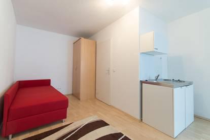 Absolute Ruhelage: möbliertes 1-Zimmer-Appartement - Ideal für Singles, Pendler oder als Übergangslösung!