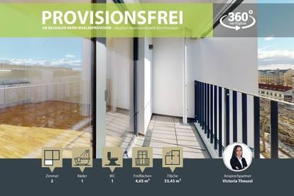 NEUBAU | ERSTBEZUG | 2 Zimmer | neue Einbauküche | Loggia | 3.OG | Top LW72