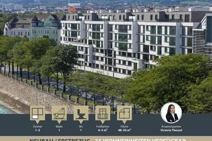 NEUBAU | ERSTBEZUG | 192 Mietwohnungen | 1 bis 4 Zimmer ab 30 m² | Loggien & Terrassen