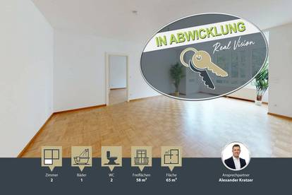Perfekt geschnittene 2-Zimmer Wohnung am Streckerpark | Dachterrasse | Nähe U4 | sehr gute Infrastruktur
